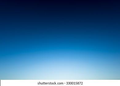 Wonderful Clear sky befor the sunrise