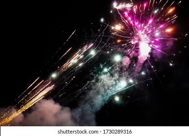 A wonderful firework in austria.