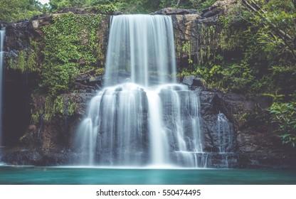 Wonderful Green Mountain Waterfalls (vintage style)