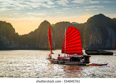 The wonderful Ha Long Bay, Unesco world heritage in Vietnam
