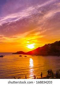 Wonderful Ibiza sunset