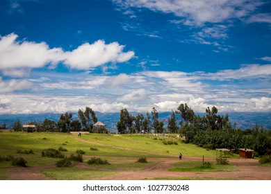 Wonderful landscape of Pampa of Quinua, a city in Ayacucho - Peru