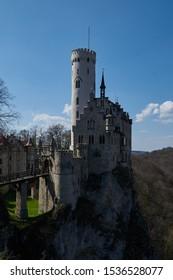 The wonderful lichtenstein castle in germany