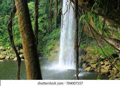 Wonderful Misol-Ha waterfall, Chiapas, Mexico