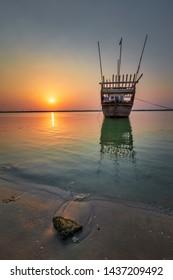 Wonderful Morning view in Dammam sea side Saudi Arabia.