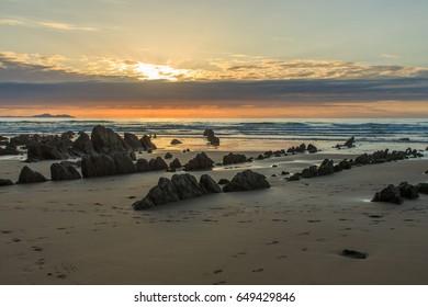 The wonderful and peculiar beach of Barrika