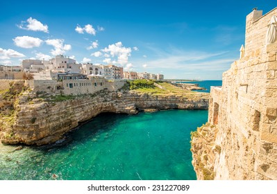 Wonderful quaint village of Polignano a Mare - Apulia, Italy.