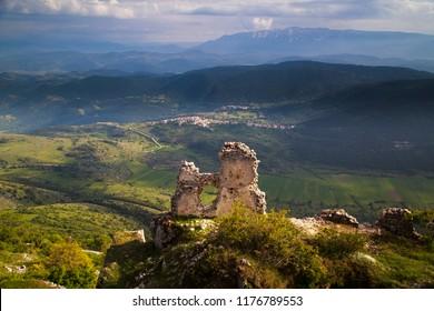 the wonderful Rocca di Calascio in Abruzzo