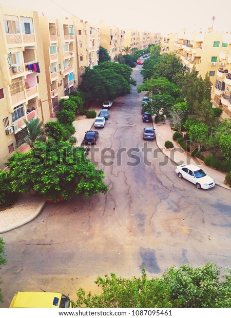 A wonderful scene from 6 October city in Giza (Egypt).