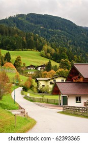 The wonderful scenery around Wagrain, Austria