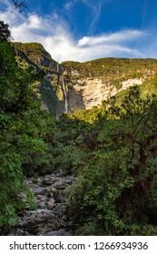 Wonderful trekking to Gocta waterfall, Perù