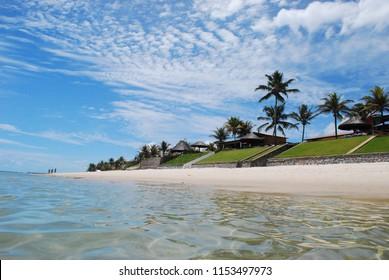 Wonderful view of Barra de Sao Miguel beach in Alagoas Brazil