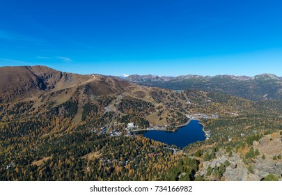 Wonderful View From Mt. Schoberriegel 2.208m In Carinthia, Austria