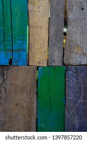 wood abstrak, and colour green, brown