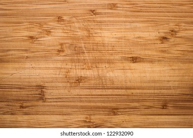 Wood background. Desk with marks after using as a kitchen
