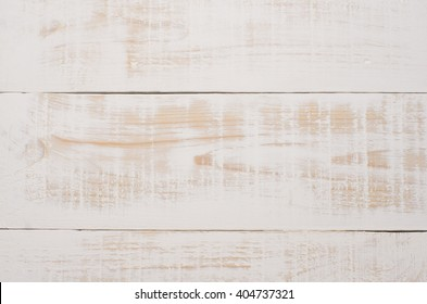 Wood Background Painted White With Scuffs And Texture