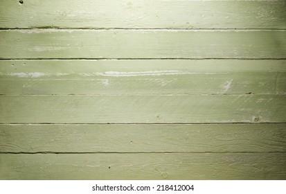 Wood Background shabby green