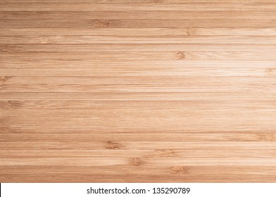 Wood background or texture. Bamboo kitchen board.