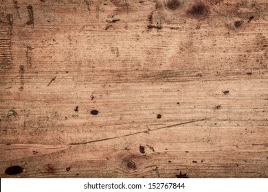 Wood background texture of smooth wooden boards scored and stained with age