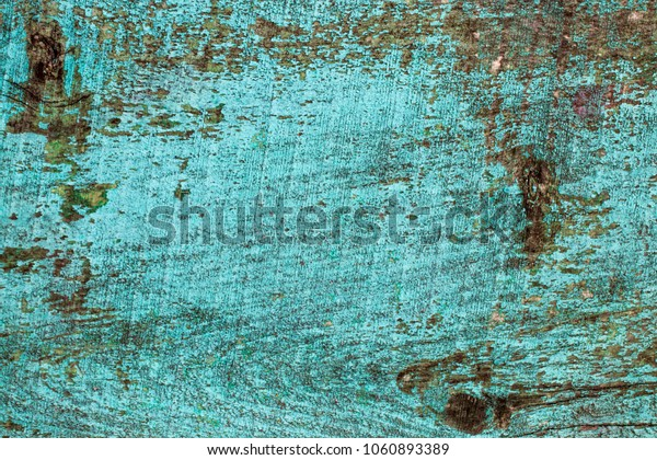wood background texture/wooden green planks. With copy space.