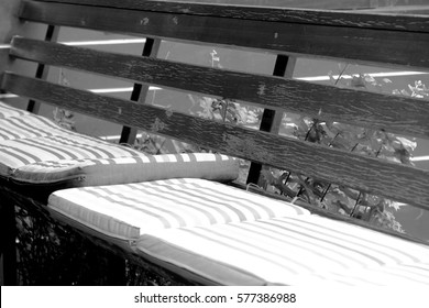 Wood balcony at a cafe background