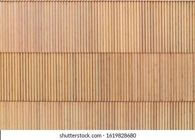 Wood batten in natural wood color / interior material/ repeat pattern / seamless material