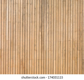 Wood is a beautiful material used to create long lasting walls, flooring and even art. It is just as suitable for use outdoors as indoors.