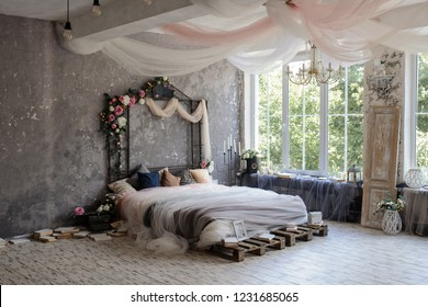 Romantic Bedroom Images Stock Photos Vectors Shutterstock