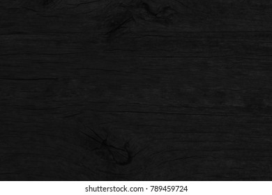Wood Black Background, Plank Wood Texture. Blank for design
