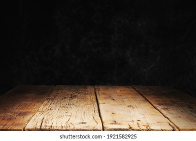 wood with black stone concrete texture background