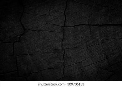 Wood black texture background