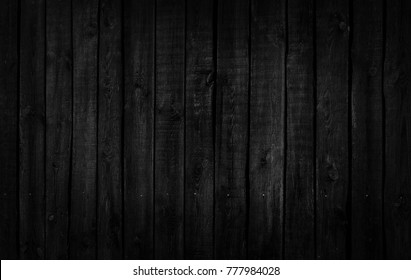 Wood black and white texture. Close-up of a wooden fence. Abstract texture and background for designers.