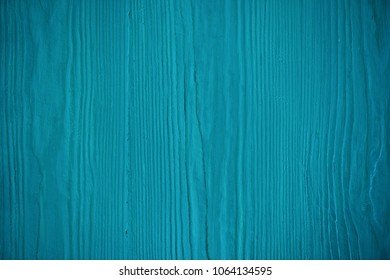 Wood blue texture. Blue timber board with weathered crack lines. Natural background for shabby chic design. Grey wooden floor image. Aged tree surface close-up backdrop template