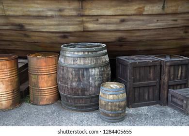 wood box ,wood texture, wood table