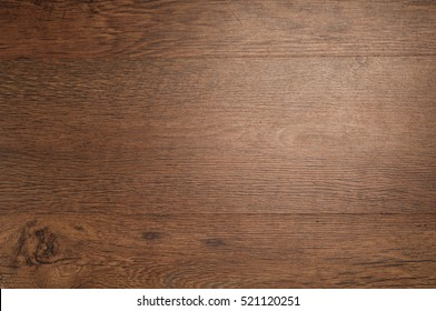 wood brown grain texture, dark wood wall background, top view of wooden table