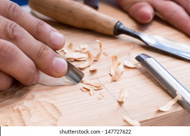 Wood carving, chisel