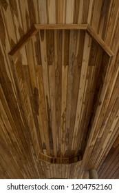 Wood ceiling  decoration background