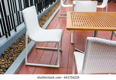 Wood Chairs and counters, coffee shop bar, table seat