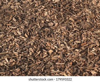 Wood chippings background