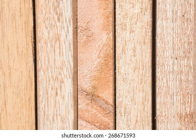 Wood for construction material
