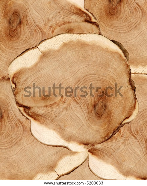 Wood cut texture background