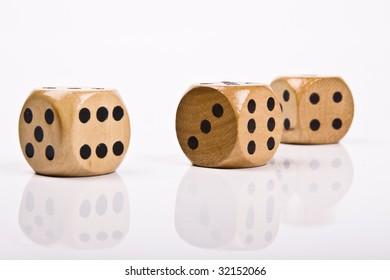 wood dice