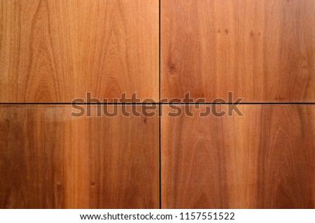 Wood Finishing Wall Panels Background Joints Stock Photo Edit Now