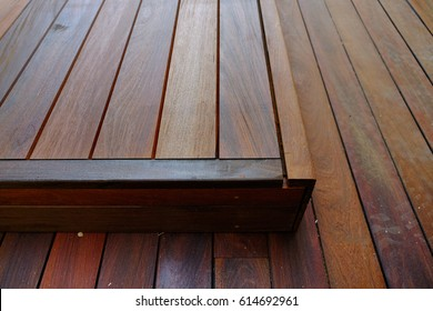 Wood floor cover structure suitable swimming pool , terraces or house interiors