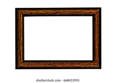 Wood frame,Mock up for your photo or text Place your work,Design