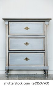 Wood furniture,detail shot of vintage chest of drawers,detail shot of vintage chest of drawers