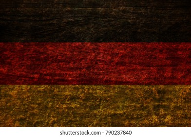 Wood Germany Flag texture background