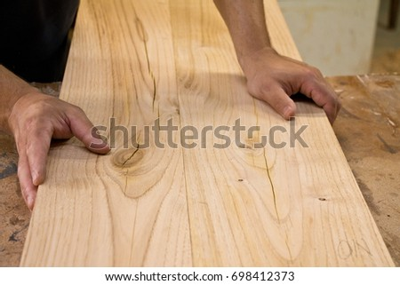 Wood Joining Stock Photo Edit Now 698412373 Shutterstock