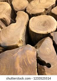 Wood Log Tops