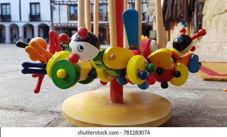 Wood made toys